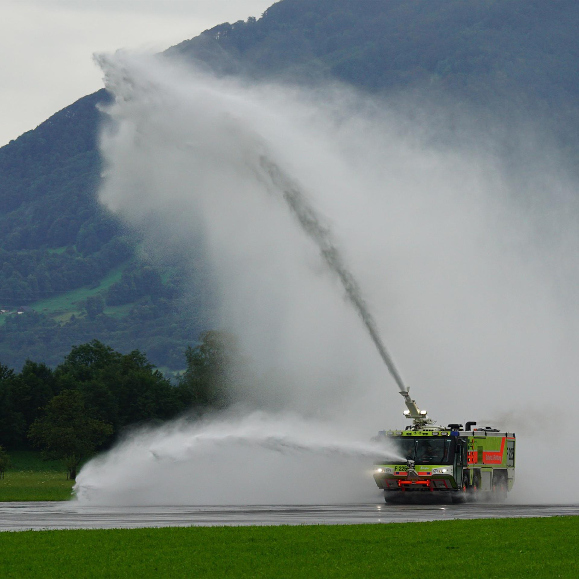 Use of Foam in Fire Fighting Applications